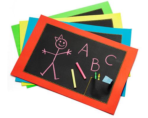 chalkboard placemets