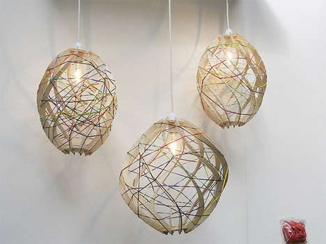rubber band lamp